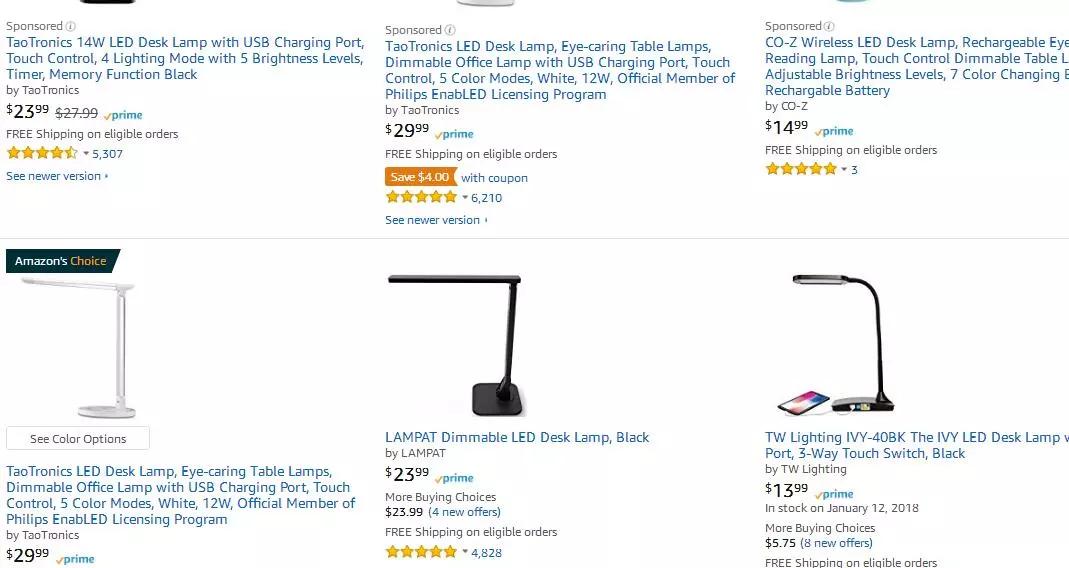 Lamps Amazon